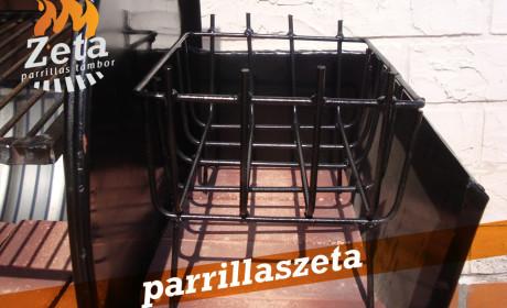 Parrilla Zeta – Adicional Brasero Uruguayo foto 2