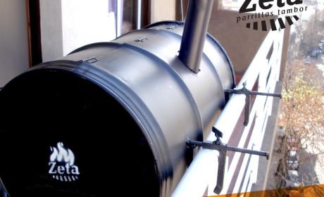 Parrilla Zeta – Modelo Balconera foto 2
