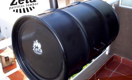 Parrilla Zeta – Modelo Balconera foto 3